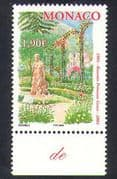 Monaco 2004 Princess Grace/ Rose Garden/ Flowers/ Nature/ Royalty/ Royal 1v (n38449)