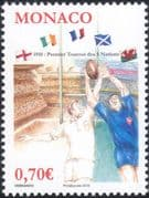 Monaco 2010 Rugby Five Nations Championship/ WC/ Sports/ Games/ Flags 1v (mc1159)
