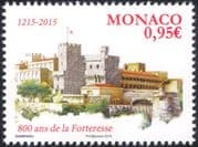 Monaco 2015 Fortress/ Palace/ Buildings/ Architecture/ History/ Heritage 1v (mc1060)