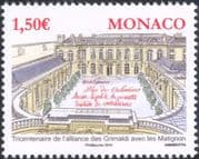 Monaco 2015 Grimaldi/ Matignon/ Palace/ Buildings/ Royalty/ Heritage 1v (mc1083)