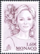 Monaco 2015 Princess Charlene/ Proteas/ Royalty/ Royal/ People/ Flowers 1v (mc1082)