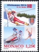 Monaco 2016 Winter Olympic Games/ Olympics/ Sports/ Skiing/ Bobsleigh/ Skating 1v (mc1057)