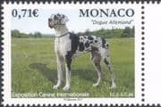 Monaco 2017 German Mastiff/ Dogs/ Dog Show/ Nature/ Animals/ Pets/ Working 1v (mc1120)