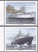 Monaco 2017 Ocean Research/ Oceanographic Science/ Boats/ Ships/ Exploration/ Transport 2v set (mc1114)