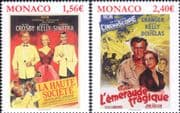 Monaco 2018 Grace Kelly/ Films/ Cinema/ Movies/ Princess/ People/ Royal/ Sinatra  2v set (mc1178)