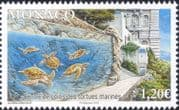 Monaco 2018 Turtles Care Centre/ Marine/ Nature/ Wildlife/ Conservation 1v (mc1179)