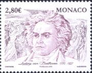 Monaco 2020 Beethoven Birth 250th/ Music/ Musicians/ Composers/ People/ Entertainment 1v (mc1206)