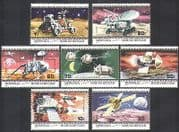 Mongolia 1979 SPACE  /  Rockets  /  Satellites 7v set (n11611)