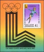 Mongolia 1980 ICE SKATING/ Winter Olympic Games/ Olympics/ Sport 1v m/s (n17536)
