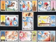 Mongolia 1992 Olympic Games/ Olympics/ Sports/ Cycling/ Boxing/ Archery/ Horse  9v set  (n34233a)
