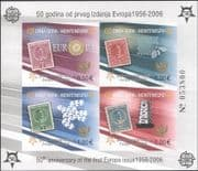Montenegro 2005 Europa Stamps 50th/ Royalty/ Bees/ Birds/ S-on-S IMPERFORATE m/s (b4780c)