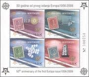 Montenegro 2005 Europa Stamps 50th/ Royalty/ Tower/ Bees/ Birds/ S-on-S 4v m/s (b4780b)