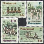 Montserrat 1979 Scouts  /  Scouting  /  Camp Fire  /  Cubs  /  Youth  /  Leisure  /  People 4v (n36347)