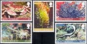 Montserrat 2010  Crab/ Fish/ Lobster/ Anemone/ Marine Animals/ Nature  5v set (b7538h)