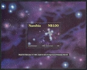 Namibia 1997 Stars  /  Space  /  Astronomy  /  Constellations REPRINT m  /  s ref:b1374