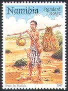 Namibia 1997 World Post Day/ Mail/ Post Runner/ Delivery/ Postal History 1v (n16620)