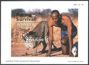 Namibia 1998 Cheetah /Nature/ Animals/ Wildlife/ Sports/ Conservation m/s (b1365)
