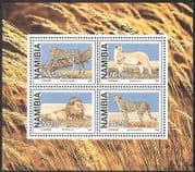 Namibia 1998 Large Wild Cats m  /  s ref:b1371