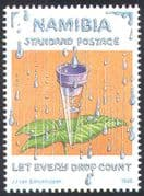 Namibia 1998 World Water Day/ Nature/ Leaf/ Plants/ Nature/ Environment/ Conservation 1v n16595