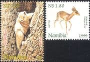 Namibia 1999 Damara Dik-dik/ Striped Tree Squirrel/ Deer/ Animals/ Nature/ Wildlife/ Conservation 2v set (n16614)