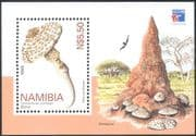 Namibia 1999 Fungi/ Nature/ Plants/ Birds/ Raptor 1v m/s (n14751)