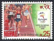 Nepal 2000 Olympic Games  /  Olympics  /  Sports  /  Running  /  Athletics 1v (n40037)