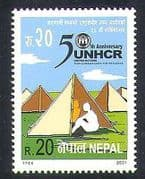 Nepal 2001 Refugees  /  Welfare  /  Health  /  Commissioner  /  Camping  /  Animation 1v (n37211)