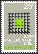 Netherlands 1970 Union/ Workers/ Parliamentary Conference/ Politics/ Design 1v (n32974)
