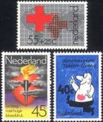 Netherlands 1978 Red Cross/ Heart/ Medical/ Health/ Welfare/ Animated 3v set (n20389)
