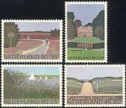 Netherlands 1980 Welfare Fund/ Culture/ Cycling/ Buildings/ Sailing/ Yachts/ Sports/ Leisure 4v set (n30888)
