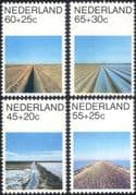 Netherlands 1981 Welfare Fund/ Dyke/ Irrigation/ Land Reclamation 4v set (n30889)