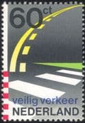 Netherlands 1982 Dutch Road Safety/ Motoring/ Roads/ Zebra Crossing 1v (n23877)