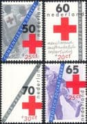 Netherlands 1983 Red Cross Fund/ Medical/ Health/ Welfare/ Charity 4v set (n30383)