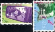 Netherlands 1988 Europa/ Cars/ Bicycles/ Bikes/ Cycling/ Transport/ Environment 2v set (s1028b)
