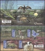 Netherlands 2005 Birds  /  Fish  /  Butterfly  /  Sheep  /  Insects  /  Lizard  /  Nature 2 x m  /  s n35107