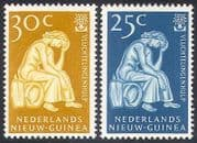 Netherlands New Guinea 1960 WRY  /  Refugee  /  Tree 2v  n29030