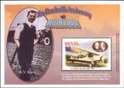 Nevis 2003 Aviation/ Planes/ Aircraft/ Transport/ Avro 561/ People/ History 1v m/s (s5441a)