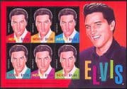 Nevis 2004 Elvis Presley  /  Music  /  Movies  /  Cinema  /  People  /  Entertainment 6v m  /  s n40886