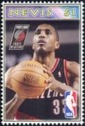 Nevis 2006  Shareef Abdur-Rahim/ Basketball/ Sports/ Games/ People/ Sportsmen 1v (s1968h)