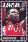 Nevis 2006  Theo Ratliff/ Basketball/ Sports/ Games/ People/ Sportsmen 1v (s1968g)