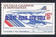 New Caledonia 1977 Concorde  /  Planes  /  Aircraft  /  Aviation  /  Flight 1v o  /  p (n39804)