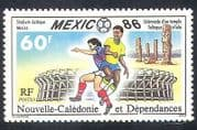 New Caledonia 1986 Sports  /  Games  /  Football  /  World Cup  /  WC  /  Soccer  /  Animation 1v n39842