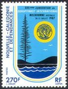New Caledonia 1987 Soroptimist International/ Women/ Business/ Commerce/ People 1v (n42127)