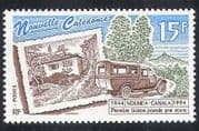 New Caledonia 1994 Post Bus/ Post Office/ Postal Transport/ Motors 1v (n30572)