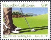 New Caledonia 1995 Sport/ Golf/ South Pacific Games/ Leisure 1v (n30725)