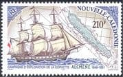 "New Caledonia 2002 ""Alcmene""/ Ships/ Boats/ Sailing/ Explorers/ Sail/ Nautical/ Transport 1v (n43964)"