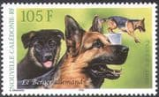 New Caledonia 2003 Dogs/ Alsatian/ German Shepherd/ Animals/ Pets/ Nature/ Working Dogs 1v (n20677)