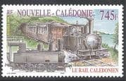 New Caledonia 2005 Steam Engine  /  Trains  /  Railway  /  Rail  /  Transport 1v (n31704)