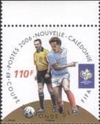 New Caledonia 2006 Football World Cup Championships/ WC/ Soccer/ Sports/ Games  1v (b2060j)