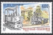New Caledonia 2007 Steam Engine  /  Trains  /  Railway  /  Rail  /  Mining  /  Transport 1v (n31700)